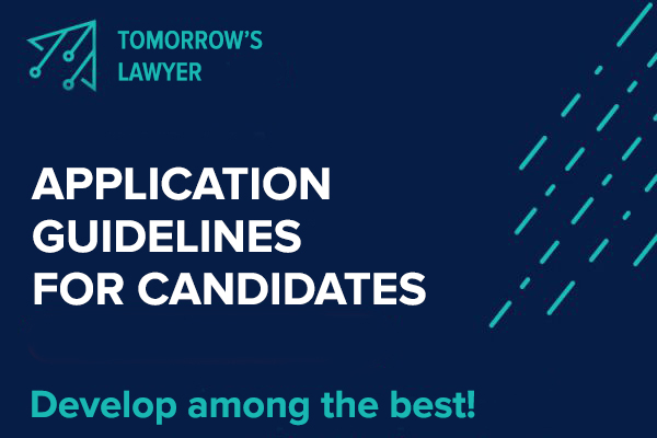 APPLICATION GUIDELINES FOR CANDIDATES
