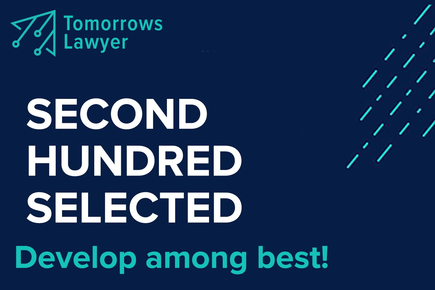 "Participants of the Second Hundred of the ""Tomorrow's Lawyer"" Program Selected"