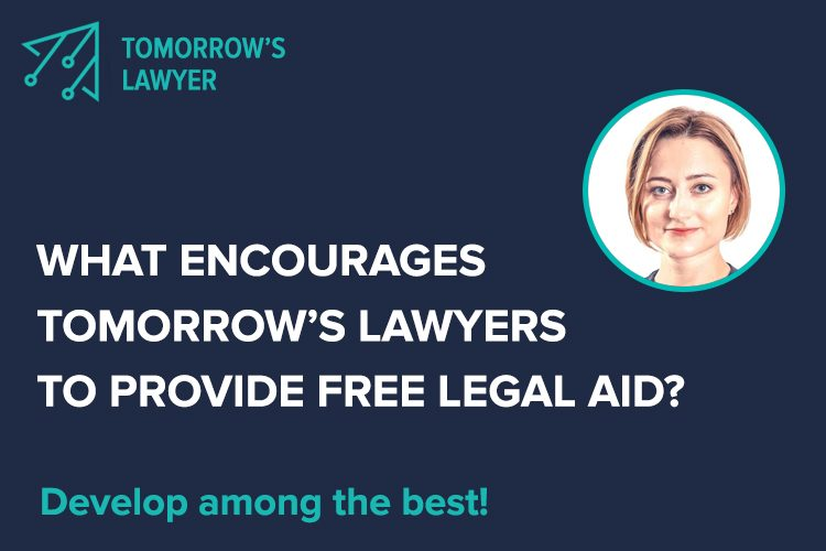 What Encourages Tomorrow's Lawyers To Provide Free Legal Aid?