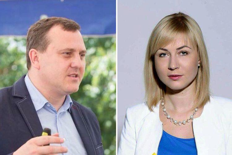 """Maryna Starovoitova And Andriy Osipov Among The """"New Leaders"""""""