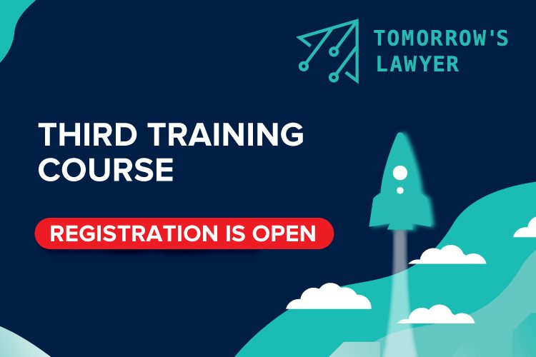"ENROLL FOR THE THIRD COURSE OF THE ""TOMORROW'S LAWYER""  PROGRAM!"