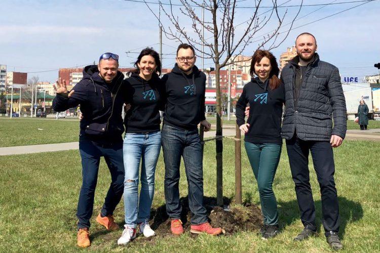 У Львові з'явилося дерево майбутнього